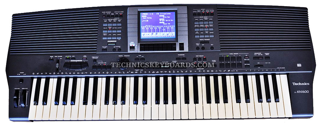 technics keyboards home
